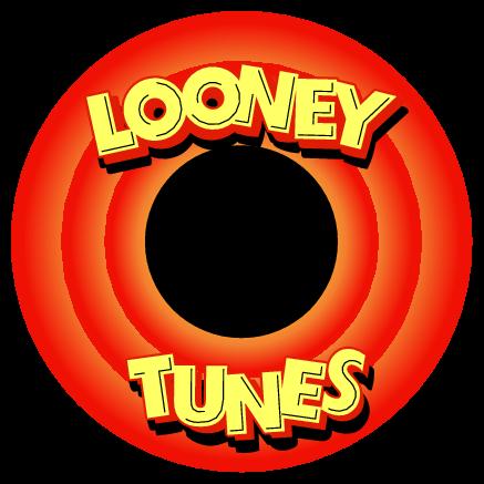 Looney Tunes Logo Festa Looney Tunes Pernalonga Adesivos Sticker