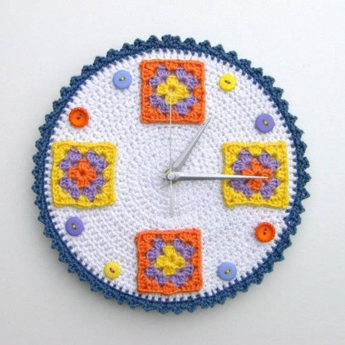 Crochet Clock by crocheTime