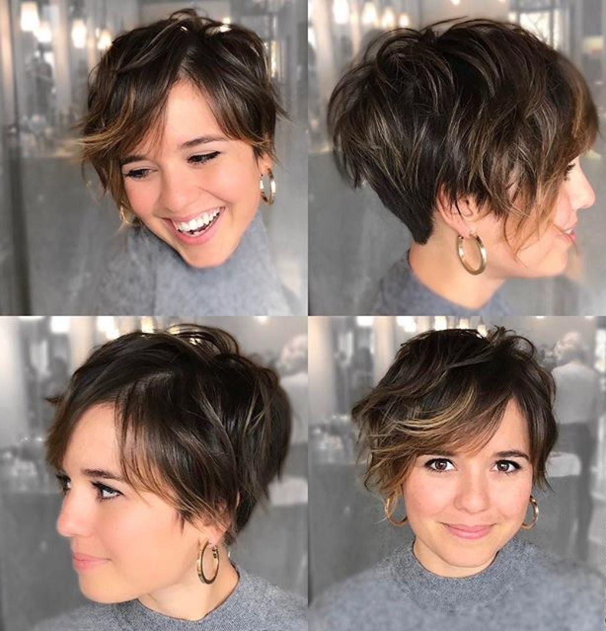 Pin By Amanda Sue On Hair Makeup Short Hair Styles For Round Faces Short Hair Undercut Short Hair With Bangs