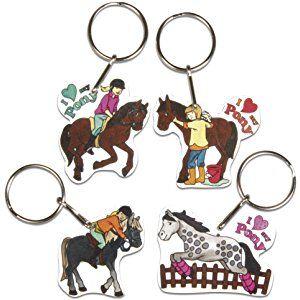 Pferd Schlüsselring Pony
