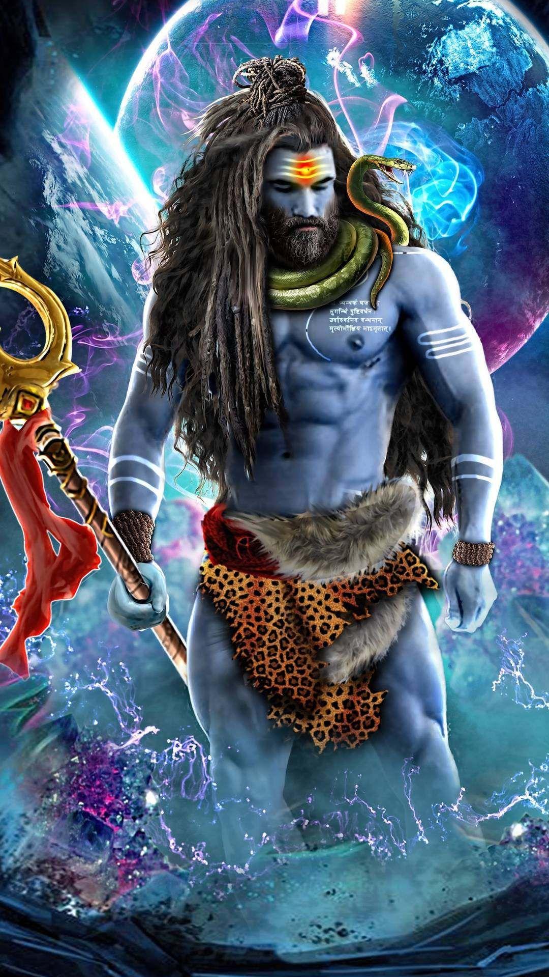 Midnight Highway Artistic Iphone Wallpaper Iphone Wallpapers Shiva Art Angry Lord Shiva Shiva Lord Wallpapers