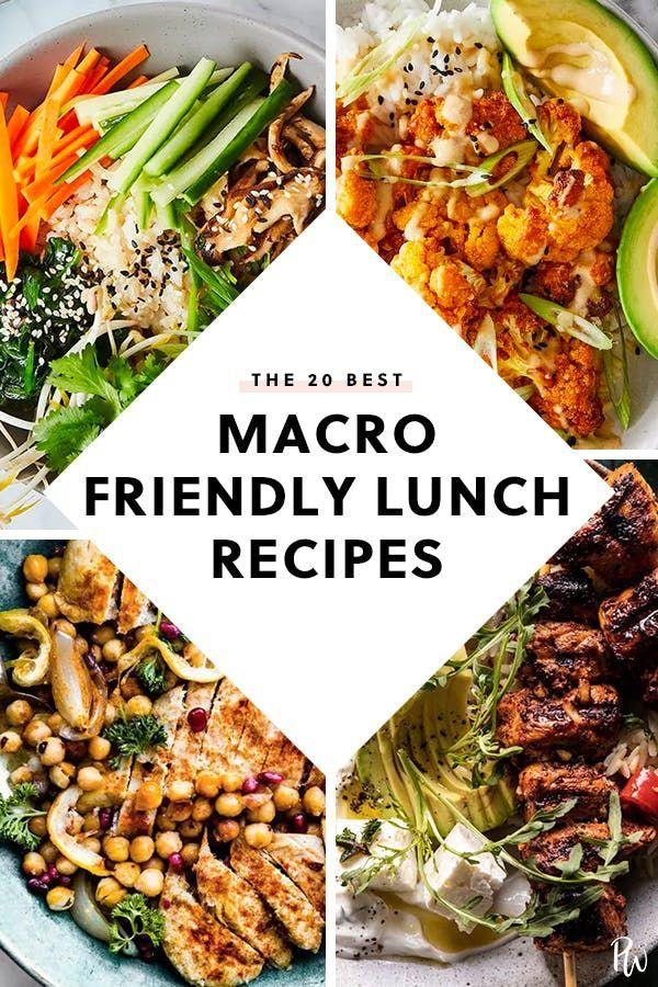 Photo of 20 Mittagsrezepte, die auf der Makrodiät stehen #purewow #Lunch #makrodiät #gesund …