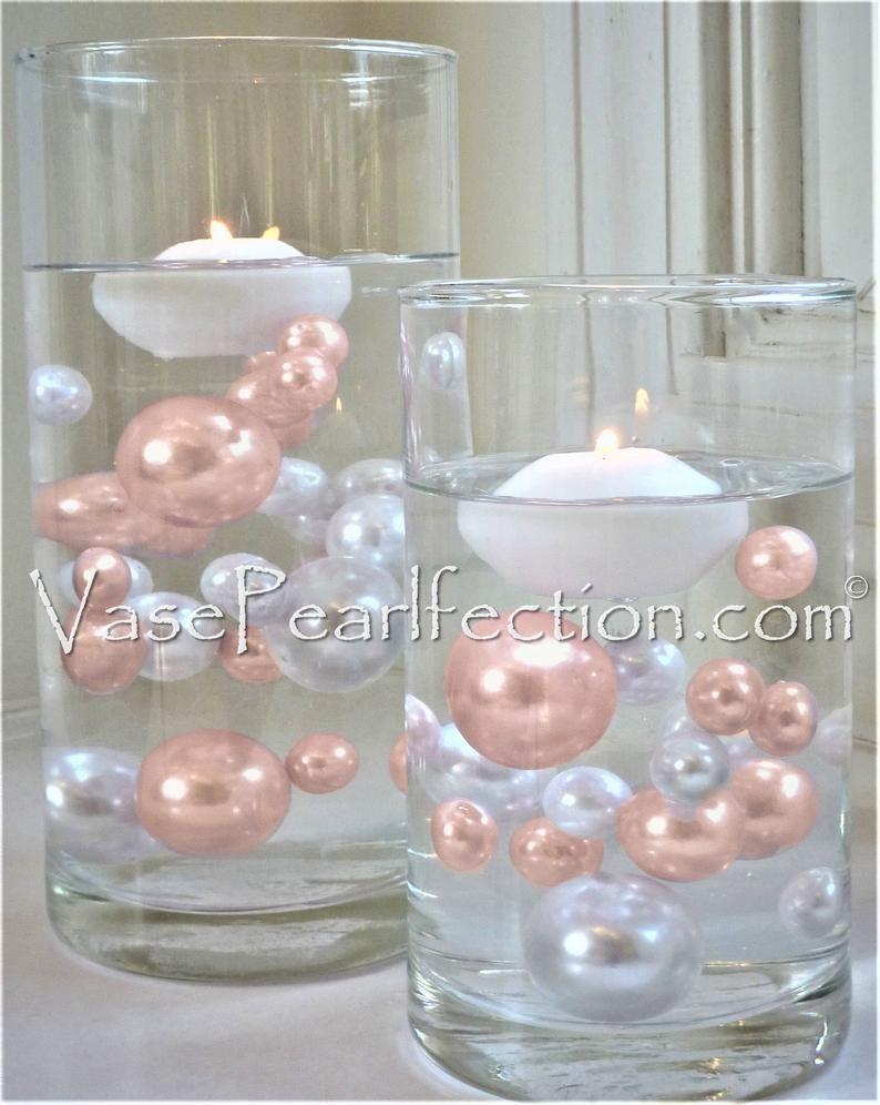 Blush Light Pink (Light Rose Gold) Pearls - No Hol