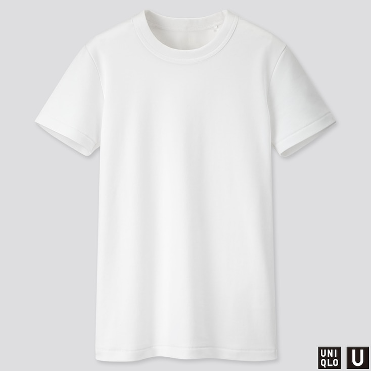 Women U Crew Neck Short Sleeve T Shirt Uniqlo T Shirts For Women Crew Neck