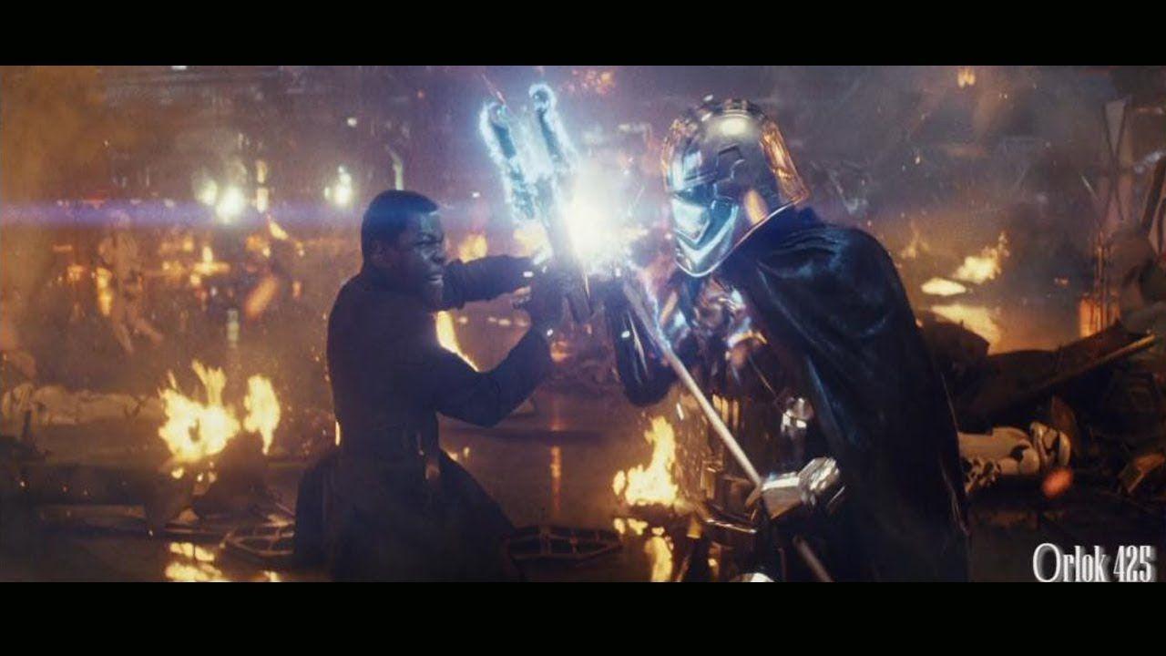 Star Wars Viii The Last Jedi Finn Vs Captain Phasma Scene In 2021 Star Wars Episodes The Last Jedi Trailer Star Wars Watch