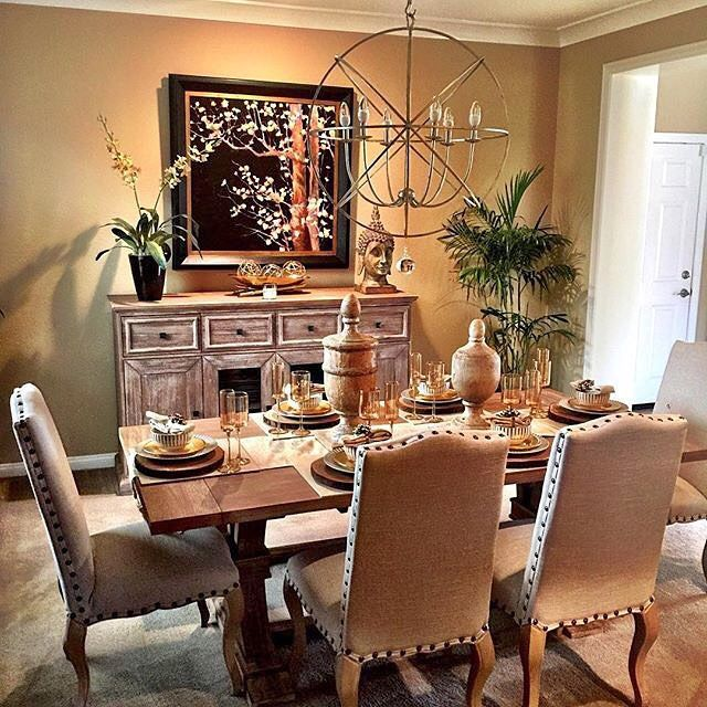 Dining Room Distinction: @socalsavvy's Space Is A Shining