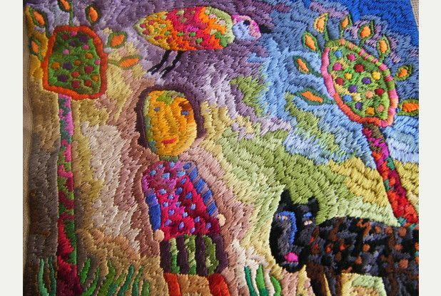 Textile exhibition by Jill Denton and Sue Dove at the Plough, Torrington | North Devon Journal