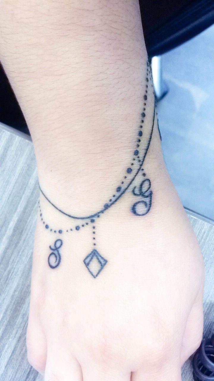 Brazalete con dijes tattoo tattoos bracelettattoo tattoos