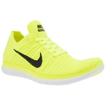 aa5b45df847d Nike Yellow Free Rn Flyknit Unisex Youth Kids can keep even lighter on  their feet