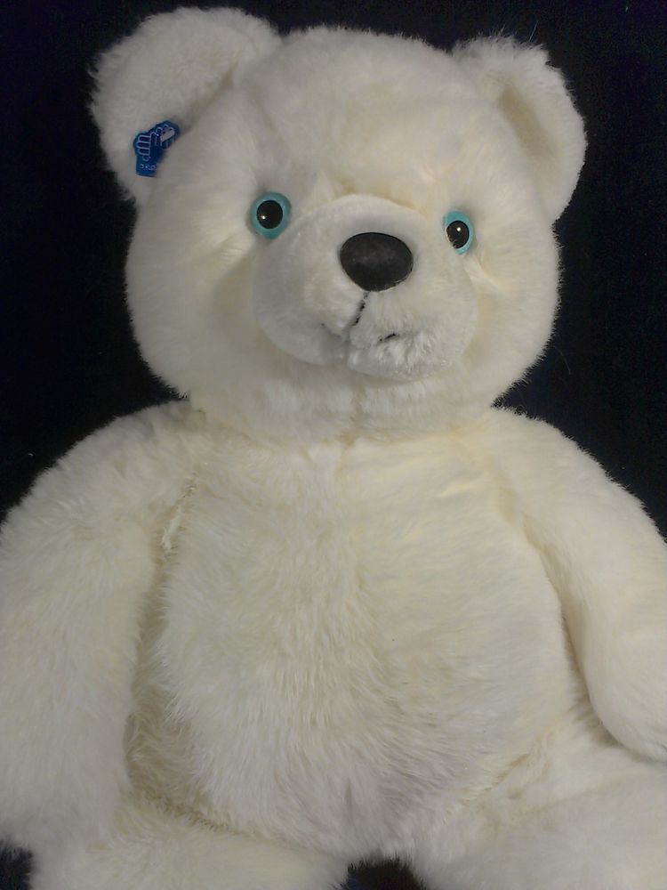 Applause Teddy Bear Plush Blue Eyes Xl Stuffed Animal Twinkle Huge