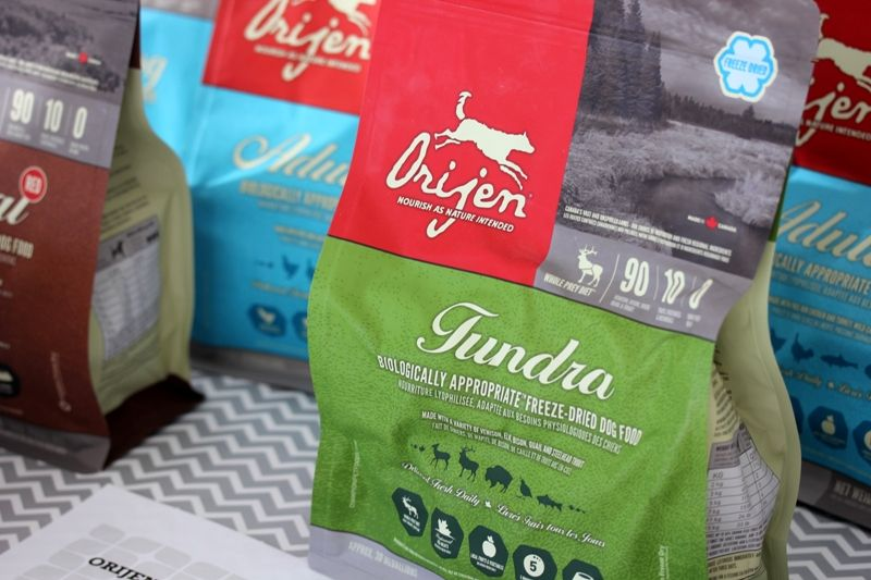 GENTLY FREEZE-DRIED TO LOCK IN ALL OF THE NATURAL GOODNESS OF FRESH AND REGIONAL INGREDIENTS, ORIJEN'S FREEZE-DRIED FOODS OFFER ALL THE BENEFITS OF A RAW DIET, NOURISHING YOUR DOG AS MOTHER NATURE INTENDED.