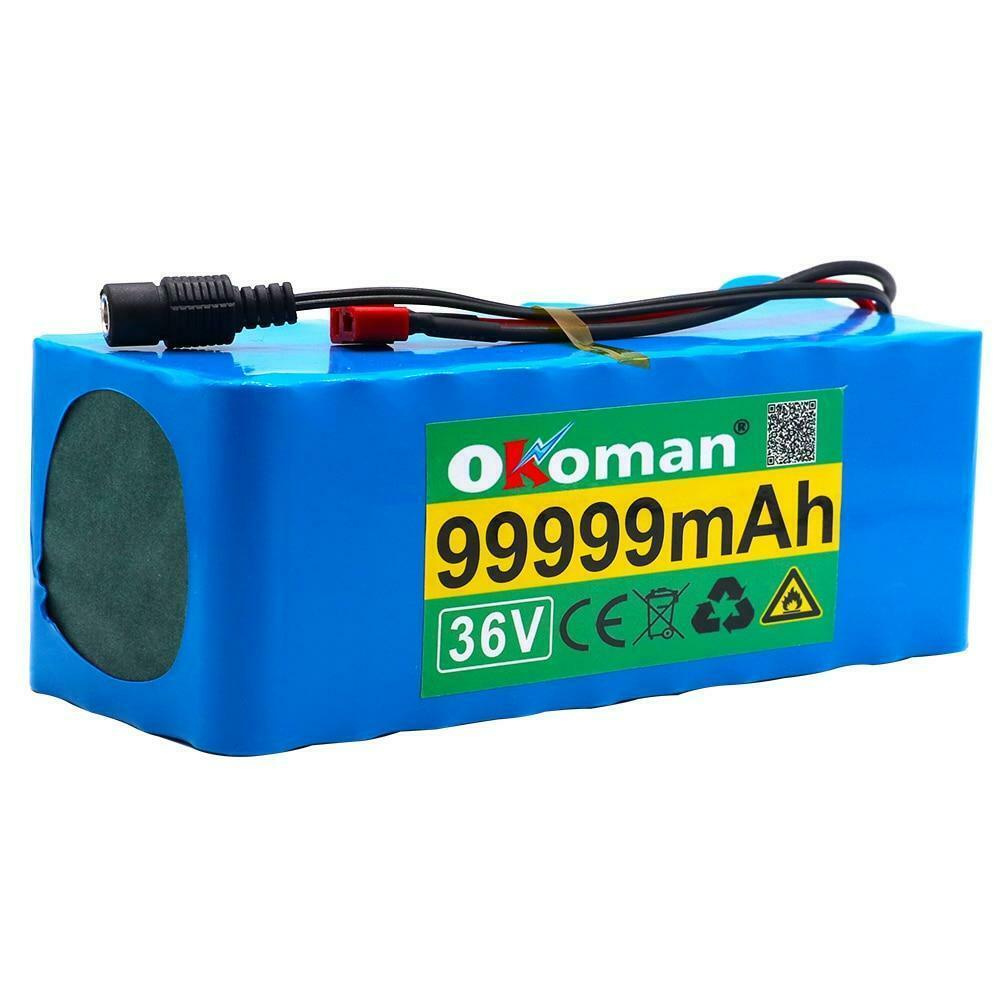 48v E-bike Battery 42ah 1000Watt 13s3p 18650 Pack MH1 54.6V Electric Bicycle Bat