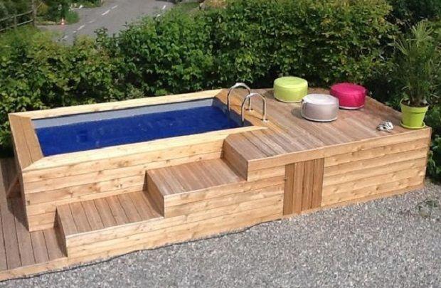 Schwimmbäder und Whirlpools im Garten anzulegen, kann eine Menge