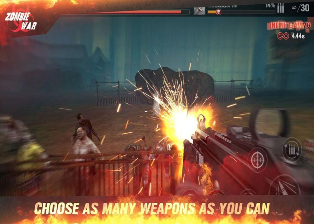 Zombie Defense Force 3d Zombies Hunting King Money Mod Download Apk Zombie Games Zombie Defense