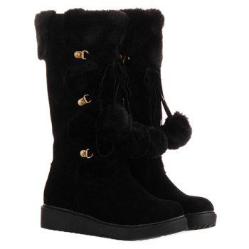 Cute Womens Winter Boots Casual Style