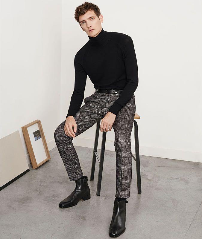 ZARA メンズ ベルト付きチノパンツ | MEN'S FASHION en 2019