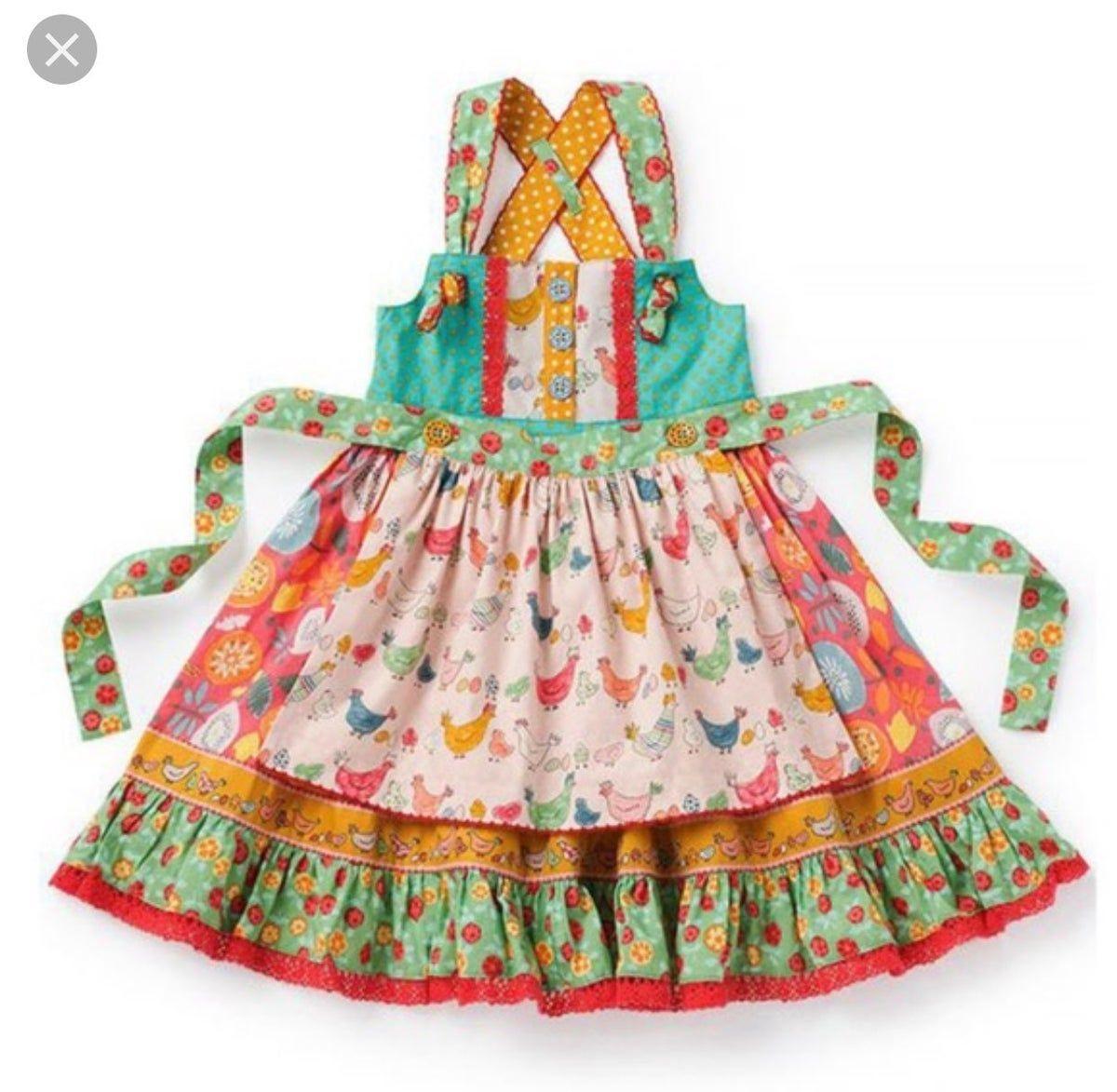 Matilda Jane Wish You Were Here Gotta Jet Maxi Girls dress size 12 NWT