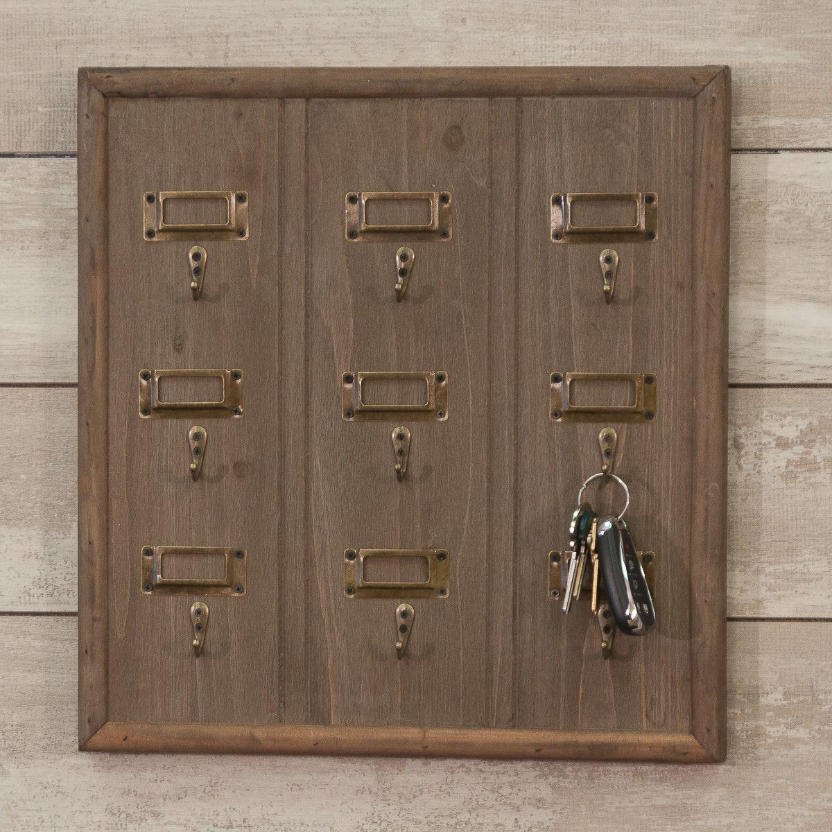 Wooden Key Hook Board Piper Classics Key Hooks Wooden Door Handles