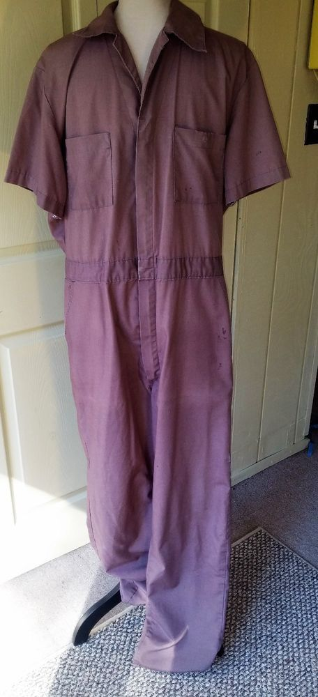 great discount 2019 real best online Dickies VTG Men's Coveralls Jumpsuit One Pc~Sz 42 Long ...