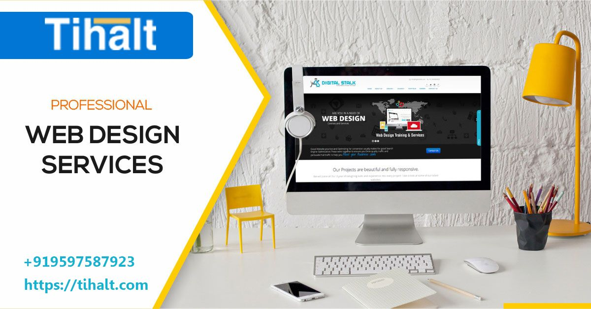 Tihalt Technologies Best Web Design Company In Bangalore Website Design Company Website Design Services Web Design Services