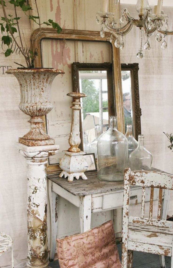Photo of Shabby Chic Decor Vintage Love, Flea Market Style and Antiques Pinterest Board #Anti …