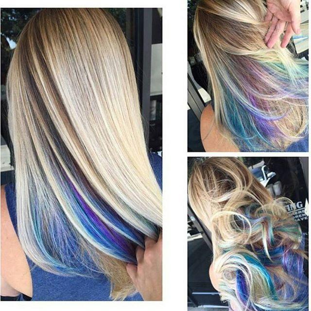 "So Funn!!  ""Secret Rainbow"" by @makeupbyfrances"