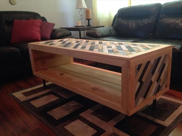 Unique Diy Coffee Table Ideas That Offer Ceative Style And Storage Coffeetable Withstorage Coffe Designideas