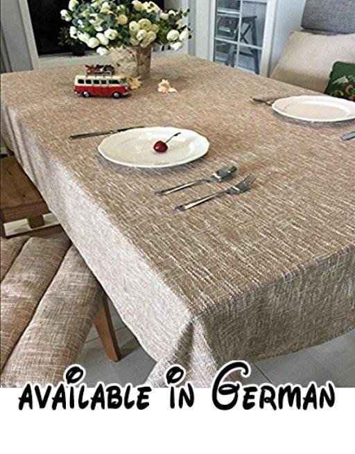 B077YNTX9R  Reine farbe farbe dicke leinen baumwolle leinen runde - Moderne Tische Fur Wohnzimmer