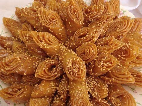 شهيوات ريحانة كمال حلوة لسان العصفور المعسلة اقتصادية مقرمشة و لذيذة X2f شهيوات رمضان Youtube Cooking Recipes Food Food And Drink
