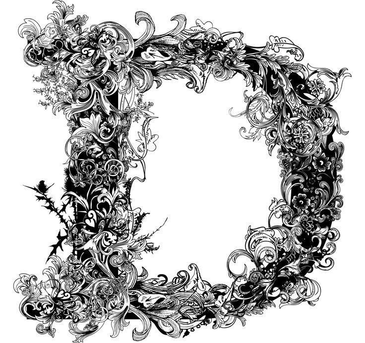 Bildergebnis für Brushwood Alphabet Fancy letters