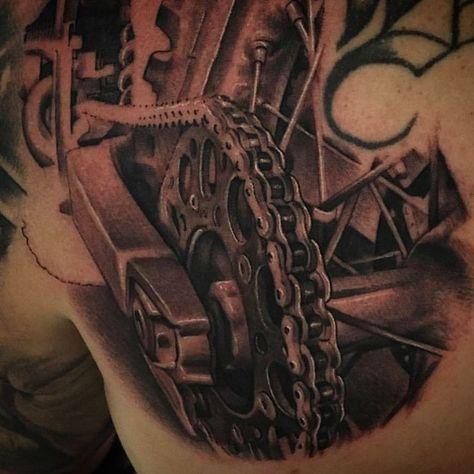Resultado De Imagem Para Tatuagens Motos Tatouages Tatuaje