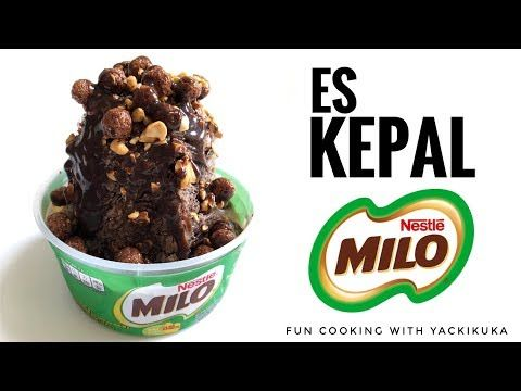 Es Kepal Milo Ice Milo Youtube Makanan Dan Minuman Resep Makanan
