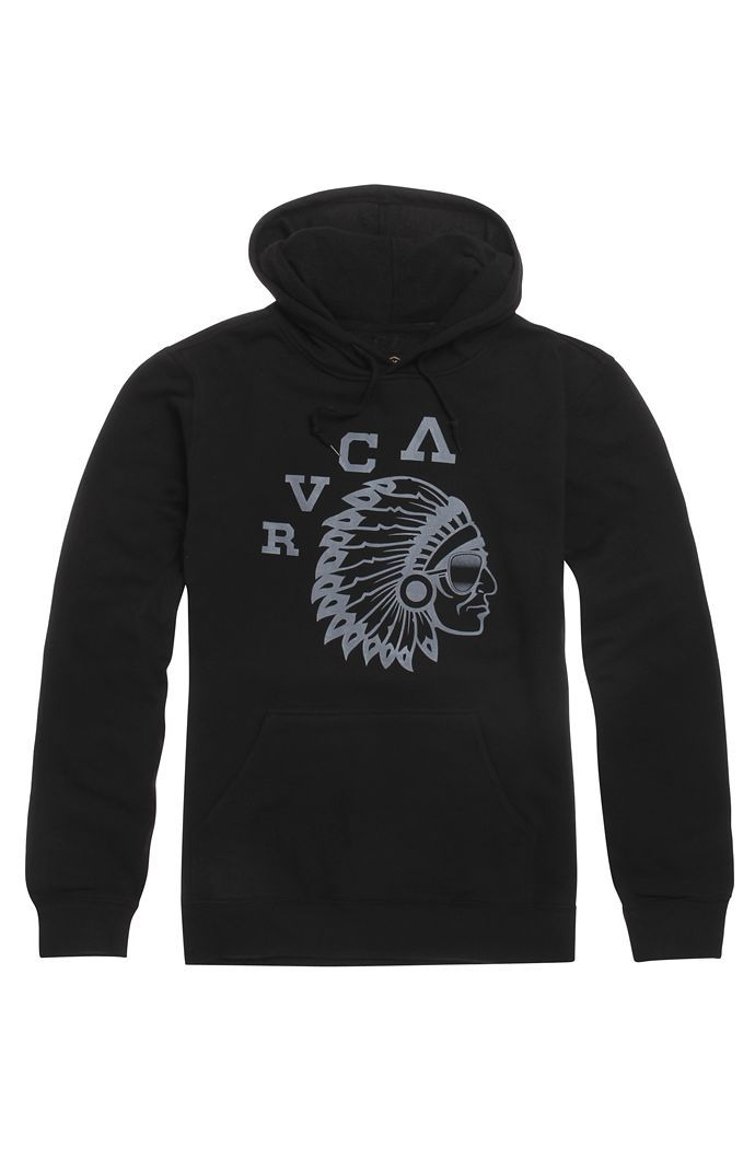 RVCA Chief Pullover Hoodie  Size L