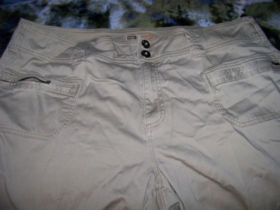Faded Glory stretch khaki jeans $25.00