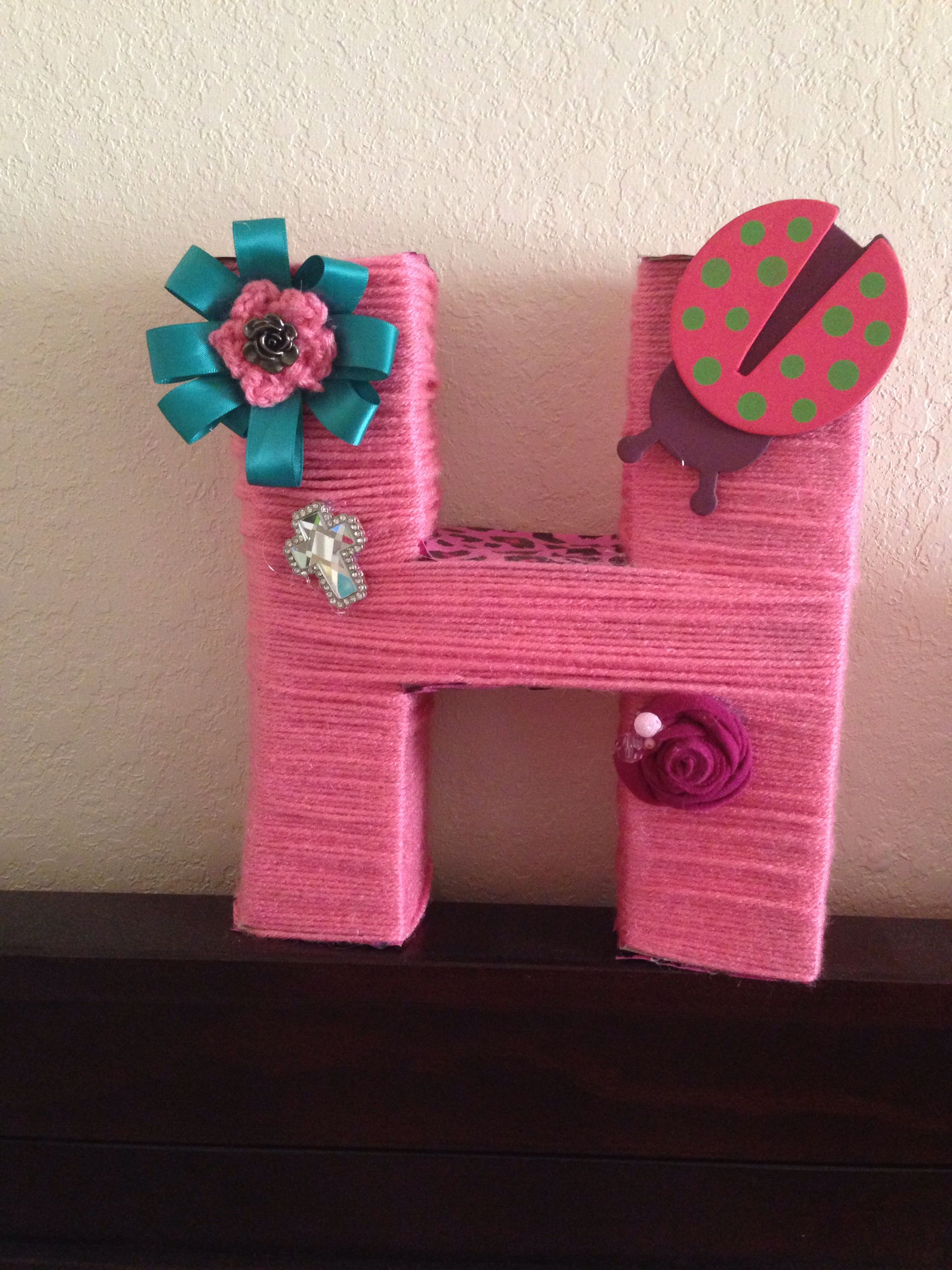Made this for my little girl Harmony. It sits on her crib.