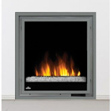 Napoleon Electric Fireplace Insert With Glass Electric Fireplace