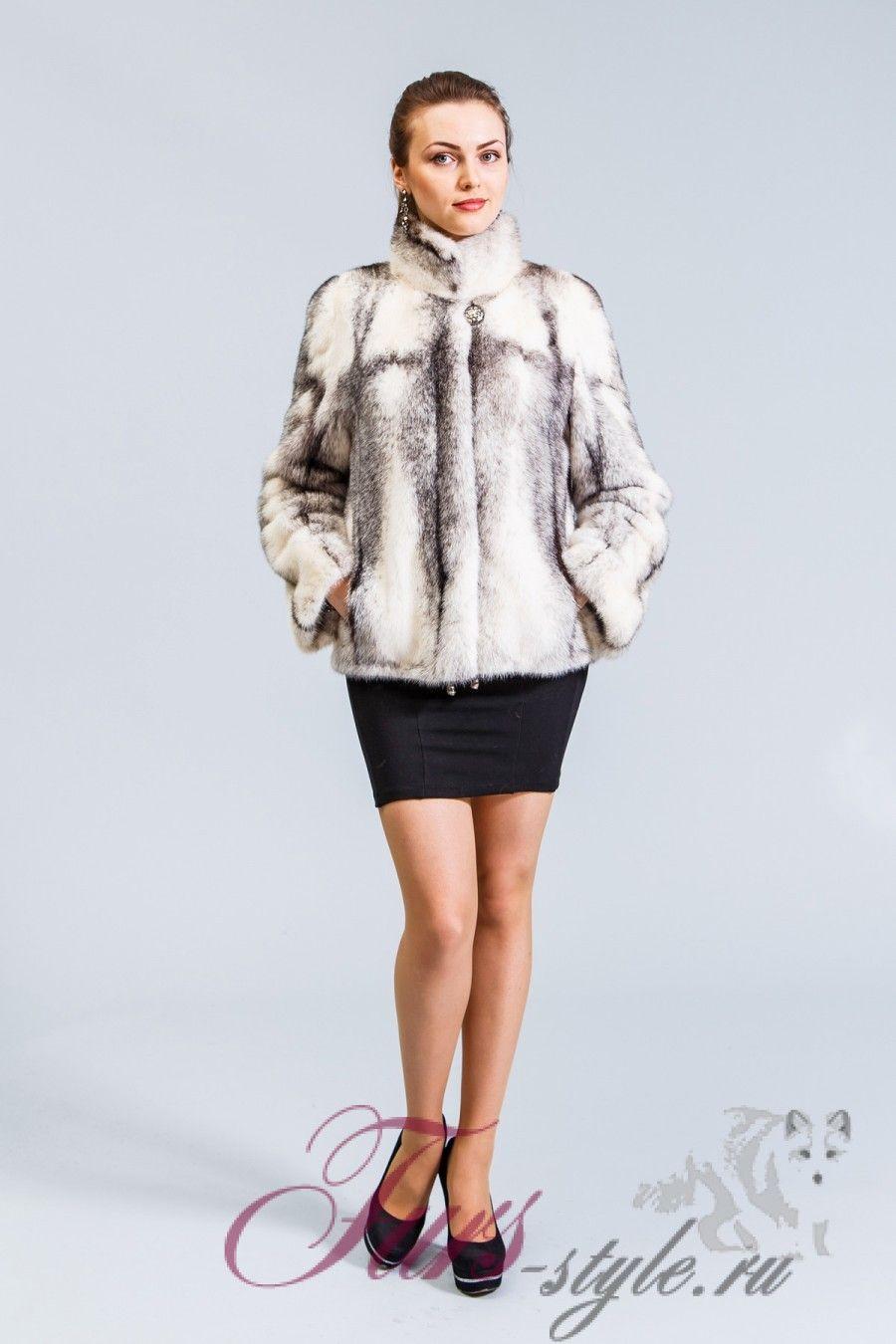 558723c3d59 Куртка из норки крестовки от Пятигорской фабрики