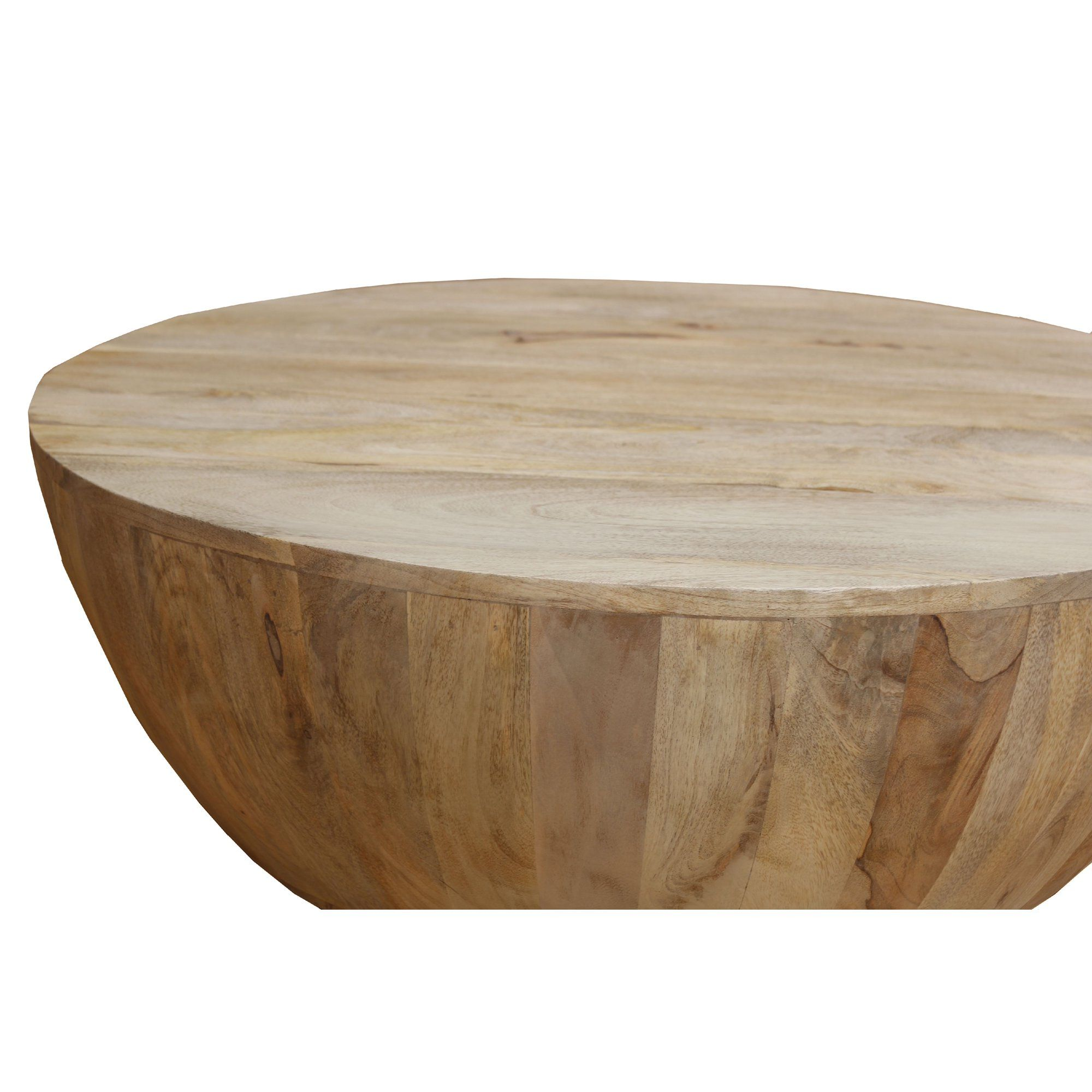 This Round Shape Coffee Table Is Made From Mango Wood And Features A Smooth Wide Top That Can Round Wood Coffee Table Mango Wood Coffee Table Drum Coffee Table [ 1200 x 1200 Pixel ]