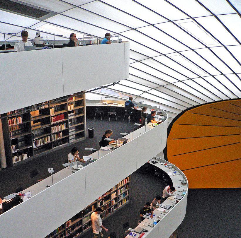 Berlin Architecture Con Immagini Biblioteche Pubbliche Biblioteca