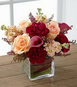 FTD Share My World Flowers  VASE INCLUDED