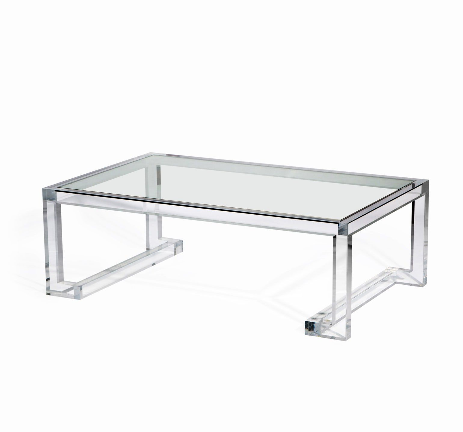 Ava Cocktail Table Contemporary Transitional Midcentury Modern Art Deco Glass Acrylic Coffee Cocktai Acrylic Coffee Table Coffee Table Cocktail Tables [ 1437 x 1540 Pixel ]