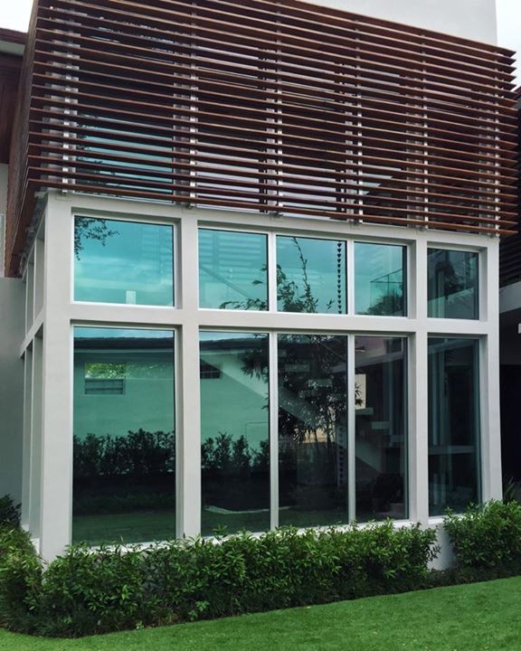 Completed Project Of Impact Resistant Windows And Doors In Miami