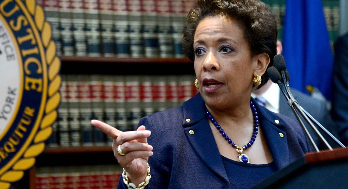 Image result for loretta lynch angry