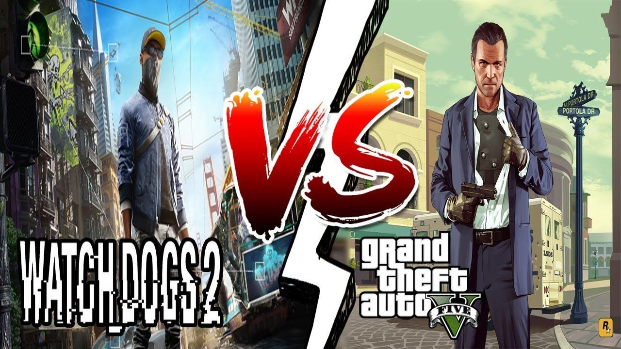 Gta 5 Gamers Vs Watch Dogs 2 Gamers Let S See Who Wins Watch Dogs Gta 5 Dogs