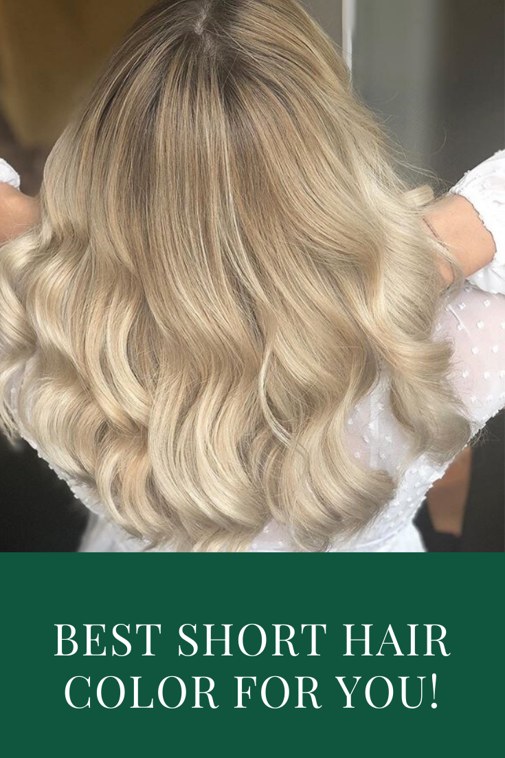Hair Color Ideas For Short Hair Tired Of Wasting Time And Money On Professional Hair Coloring Just Apply This Color And S