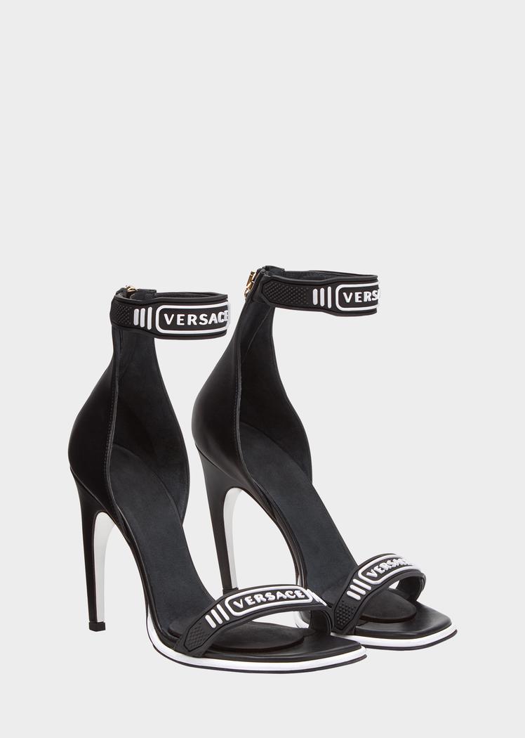 80a8f6edcc #versace #shoes #medusa high heel sandals | Versace in 2019 | Versace  heels, Versace sandals, Sandals