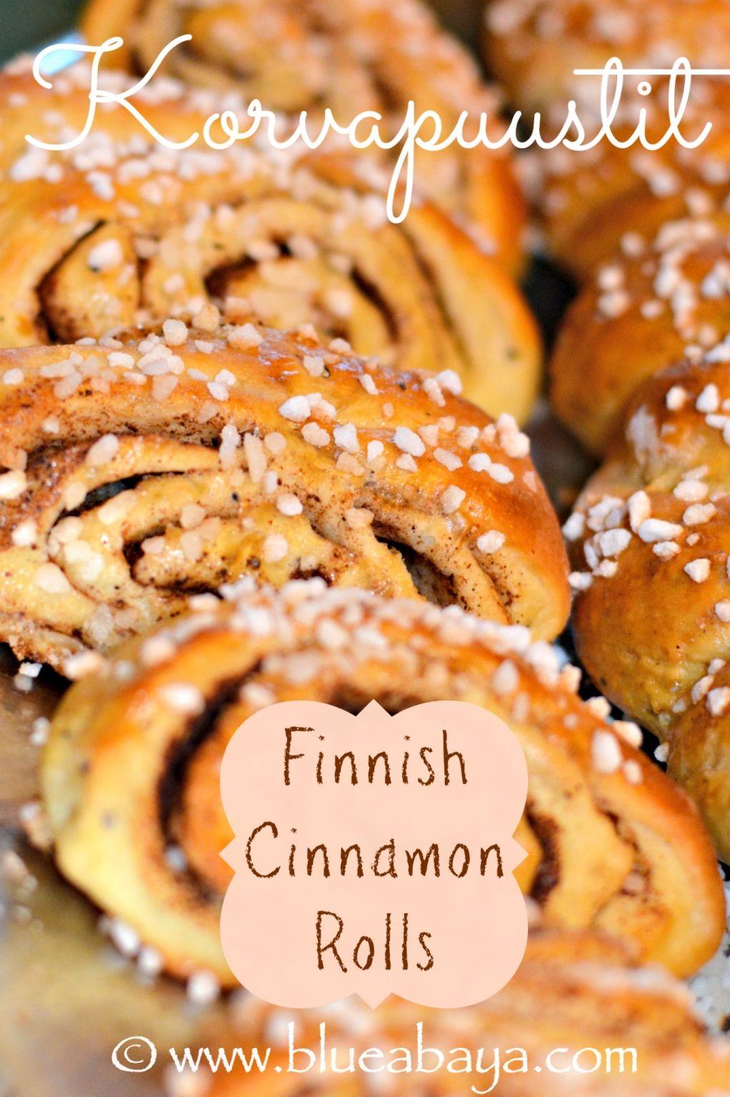 finnish cinnamon rolls