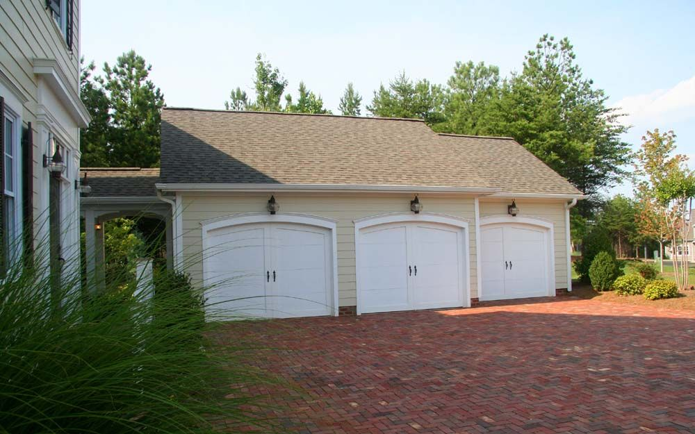 Detached garage with breezeway detached 3 car garage for House plans with detached garage and breezeway