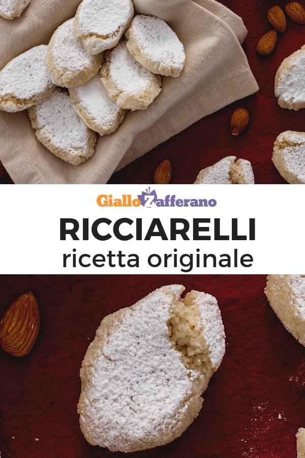 Biscotti Di Natale Ricette Giallo Zafferano.Ricciarelli