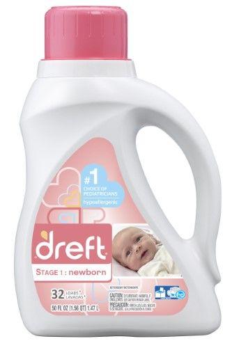 Dreft Laundry Detergent Stage 1 Newborn 32 Loads Multi Baby